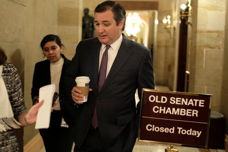 Le républicain Ted Cruz, candidat malheureux aux primaires... (Photo Reuters)