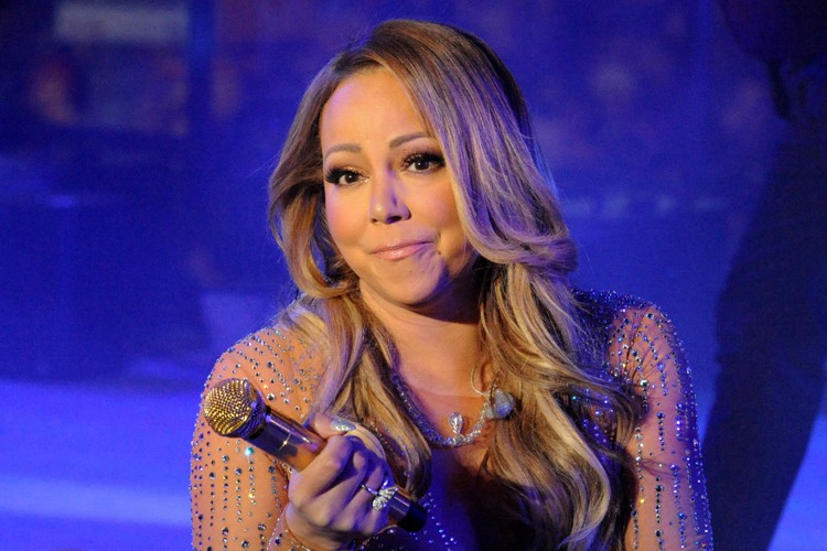 Mariah Carey, le 31 décembre à New York.... (PHOTO REUTERS)