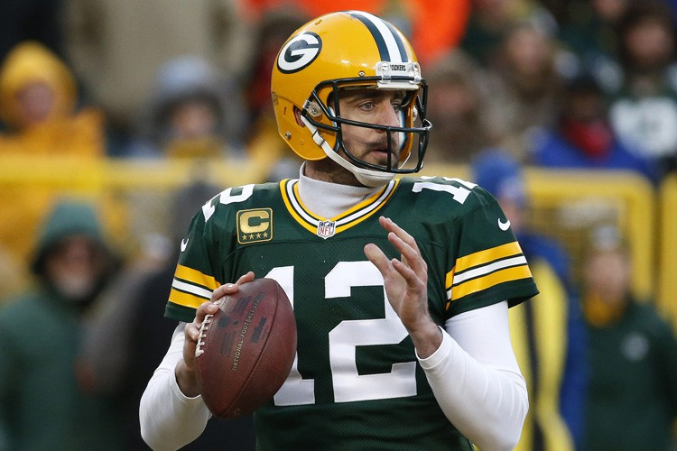 Aaron Rodgers... (PHOTO AP)
