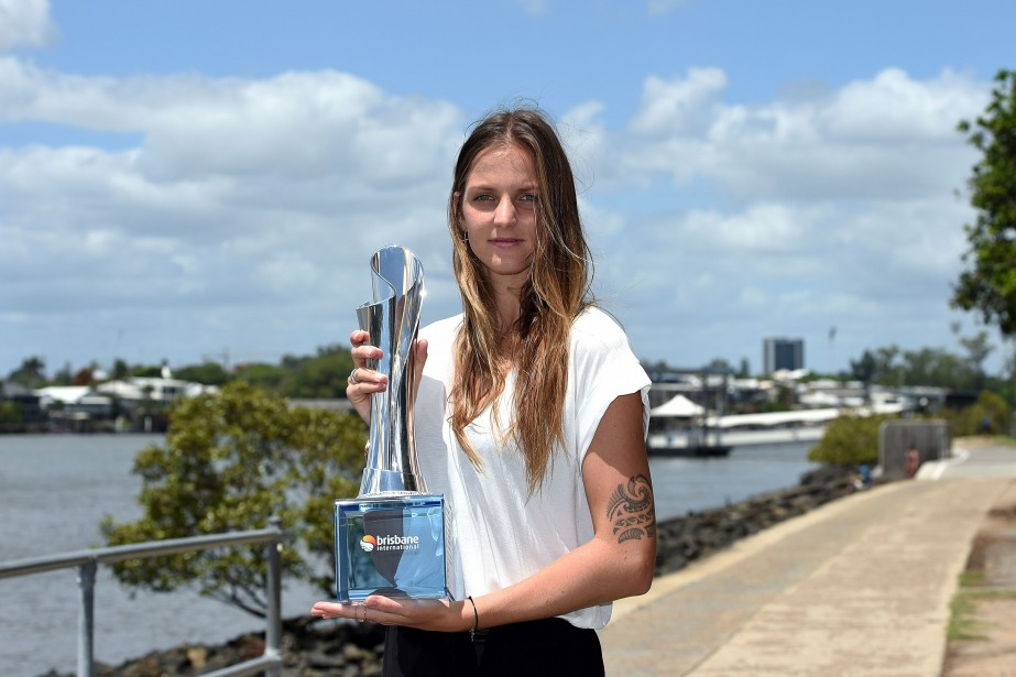 La Tchèque Karolina Pliskova a remporté le tournoi... (Photo Saeed Khan, AFP)