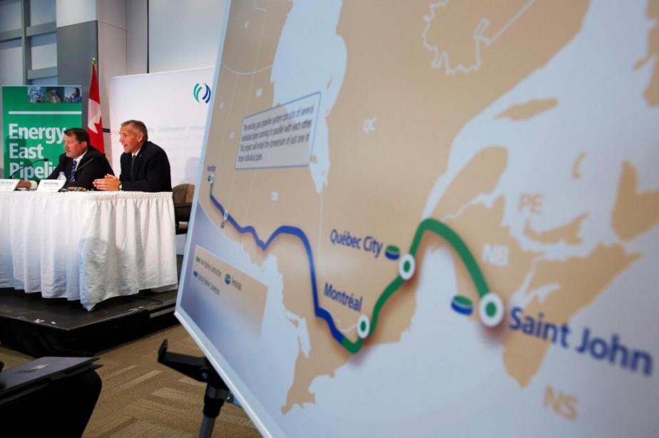S'il était approuvé, l'oléoduc Énergie Est transporterait 1,1... (photoTodd Korol, archives reuters)