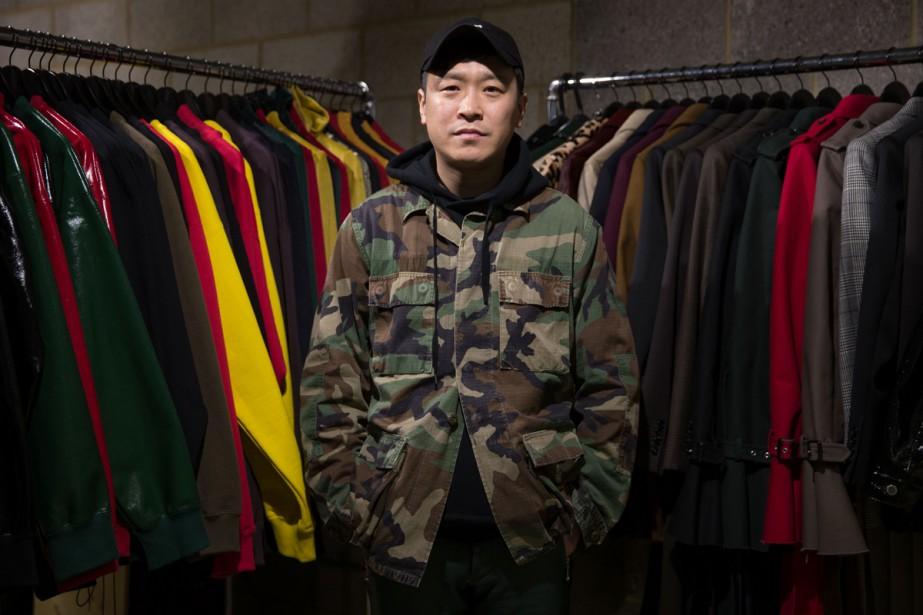 Le designer Arashi Yanagawa était boxeur professionnel avant... (PHOTO AFP)