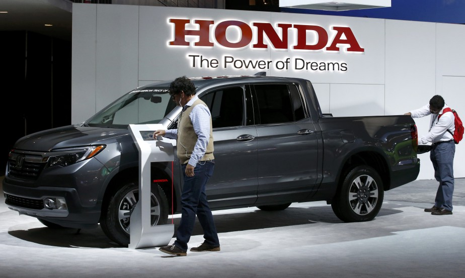 Le Honda Ridgeline. (REUTERS)