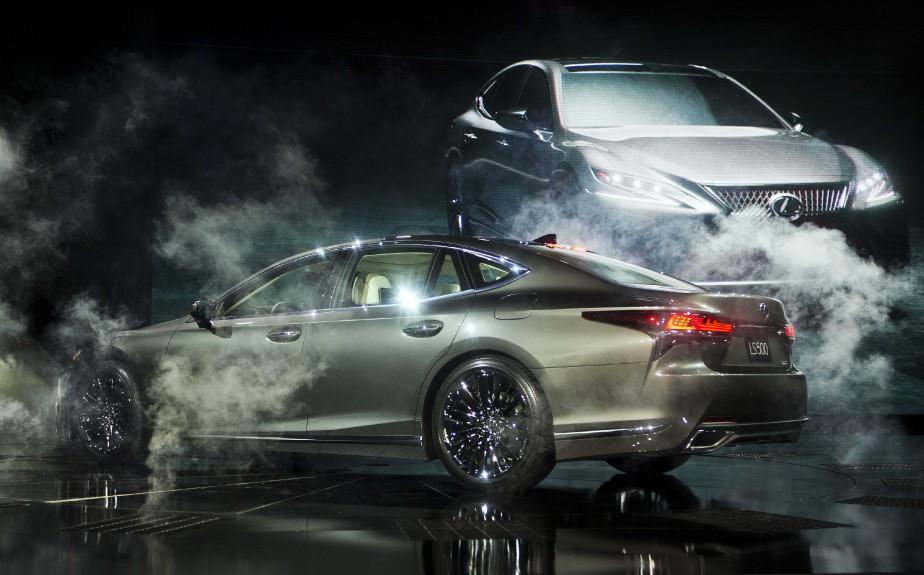 La Lexus LS 500. (AP)