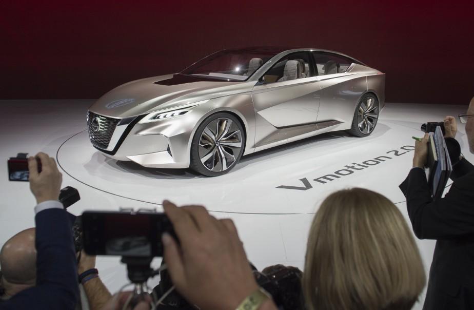 Le prototype Nissan Vmotion 2.0 (AFP)
