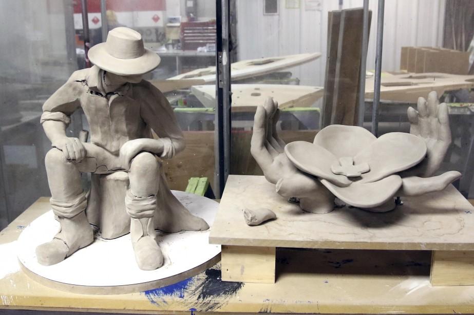 Des maquettes de deux structures. (PATRICK WOODBURY, Le Droit)