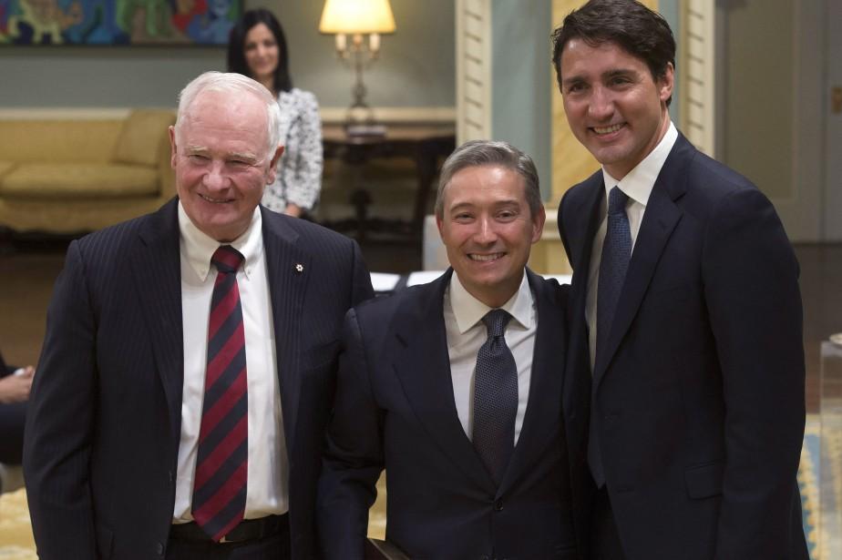 François-Philippe Champagne a récemment été nommé ministre du... (THE CANADIAN PRESS)
