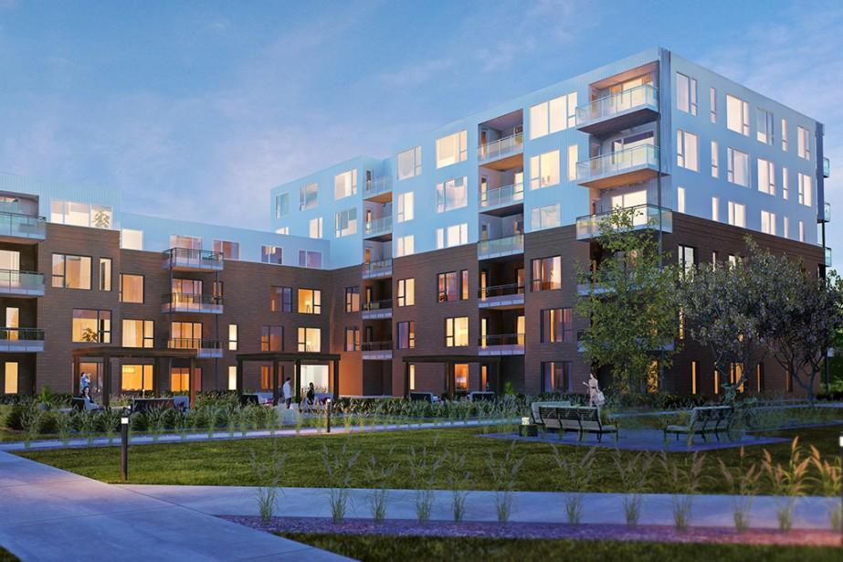 Les appartements ont majoritairement deux chambres et ne... (PHOTO FOURNIE PAR INDUSTRIES BONNEVILLE)