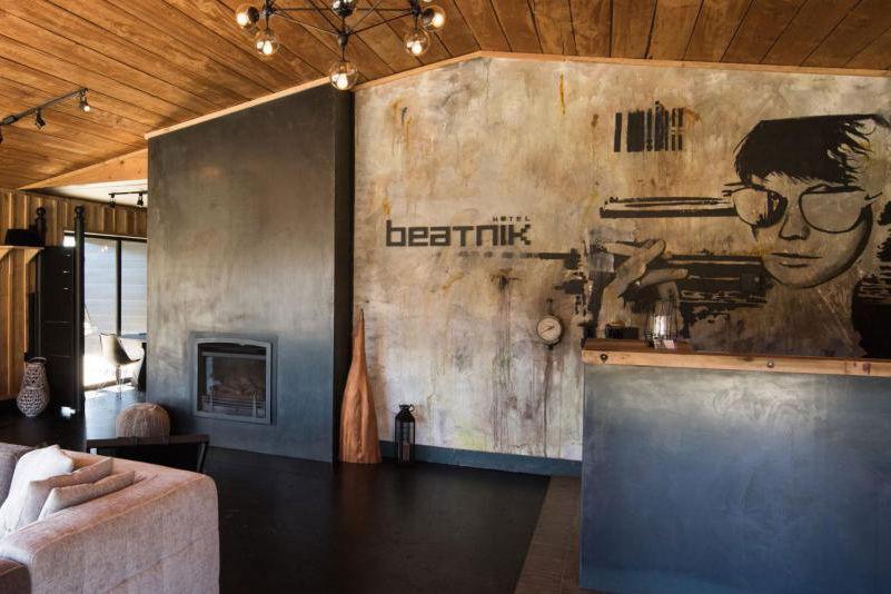Le Beatnik est situé à Bromont, dans les... (Photo tirée du site web de l'hôtel)