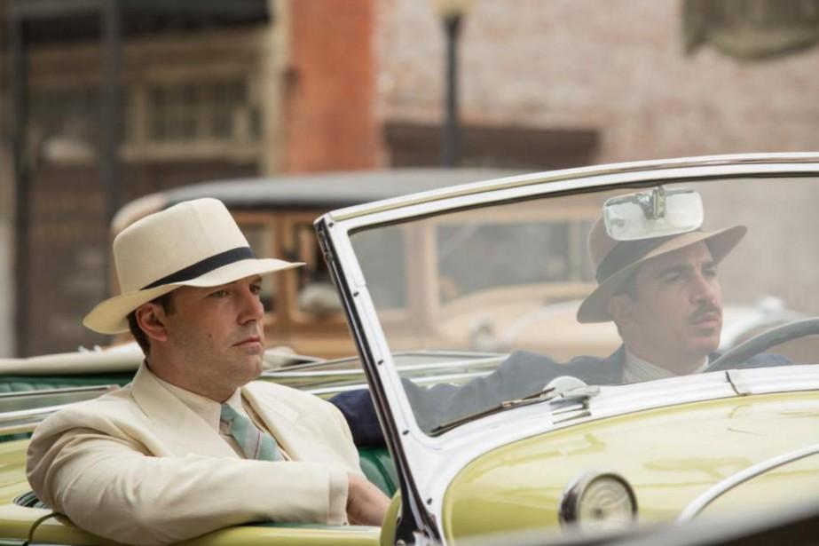 Ben Affleck et Chris Messina dans Live by... (Photo fournie par Warner Bros.)