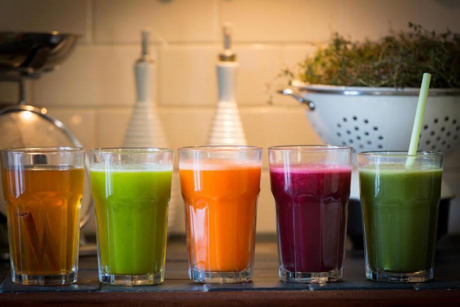 Cinq boissons pour requinquer son système digestif et... (PHOTO OLIVIER JEAN, LA PRESSE)