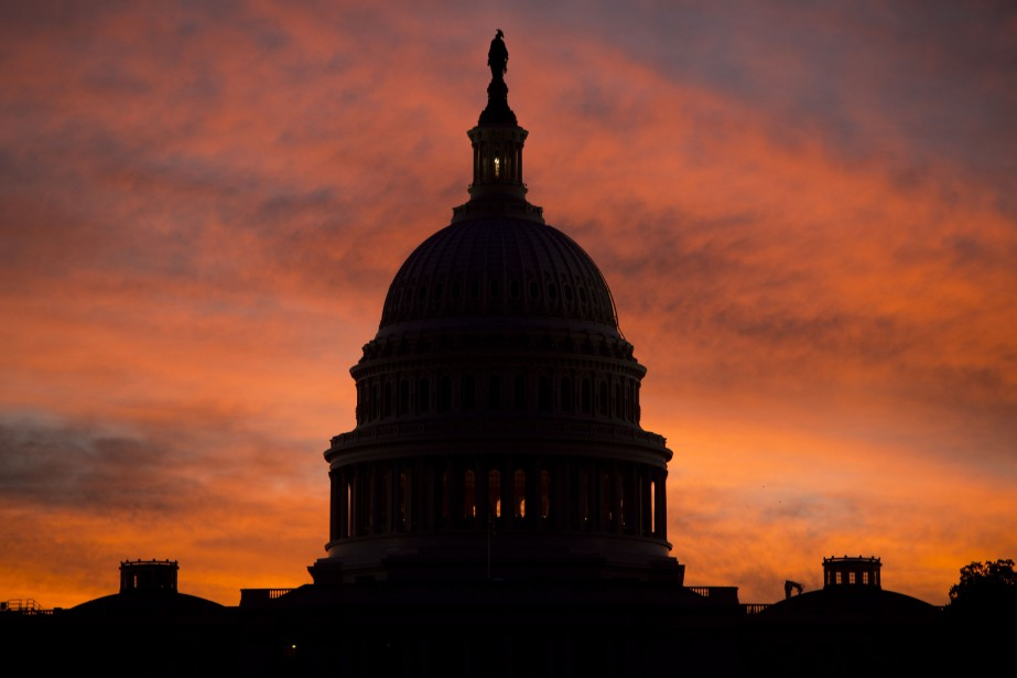 Des sénateurs du Congrès à Washington ont lancé... (Photo SAUL LOEB, Agence France-Presse)