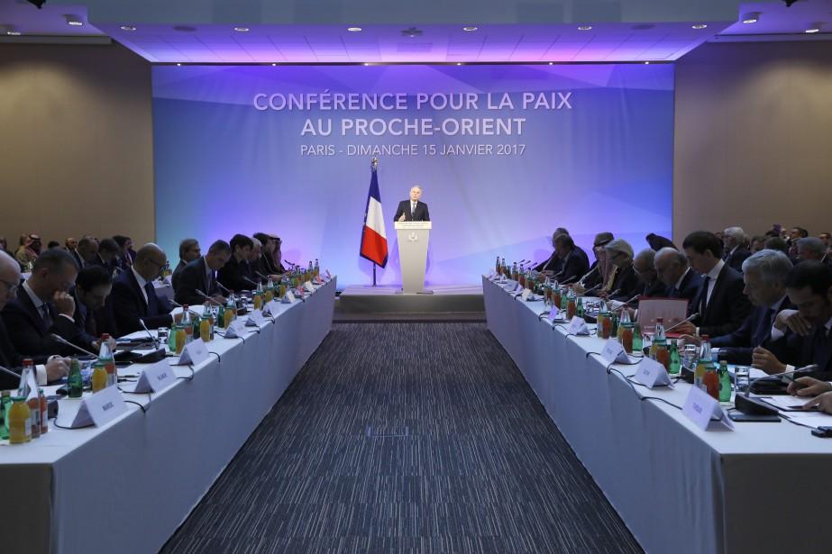 Le chef de la diplomatie française Jean-Marc Ayrault... (Photo Thomas Samson, Associated Press)