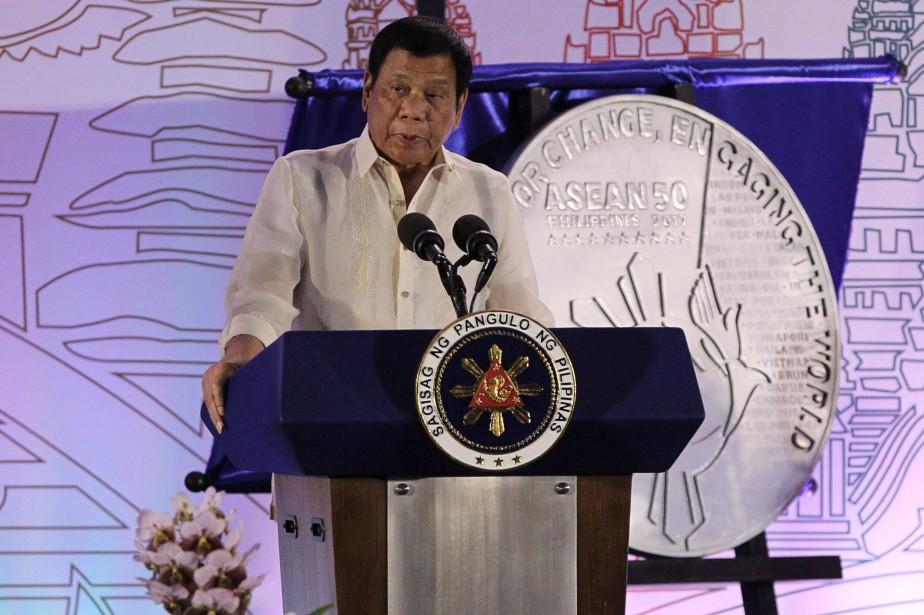 Rodrigo Duterte... (PHOTO LEAN DAVAL JR, REUTERS)