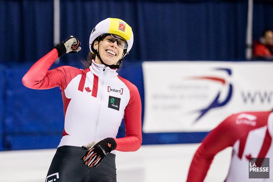 MarianneSt-Gelais a remporté son huitième titre canadien au... (PHOTO EDOUARD PLANTE-FRÉCHETTE, LA PRESSE)
