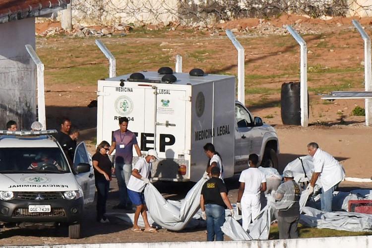 L'émeute s'est déclarée lorsque des détenus, vraisemblablement membres... (PHOTO REUTERS)