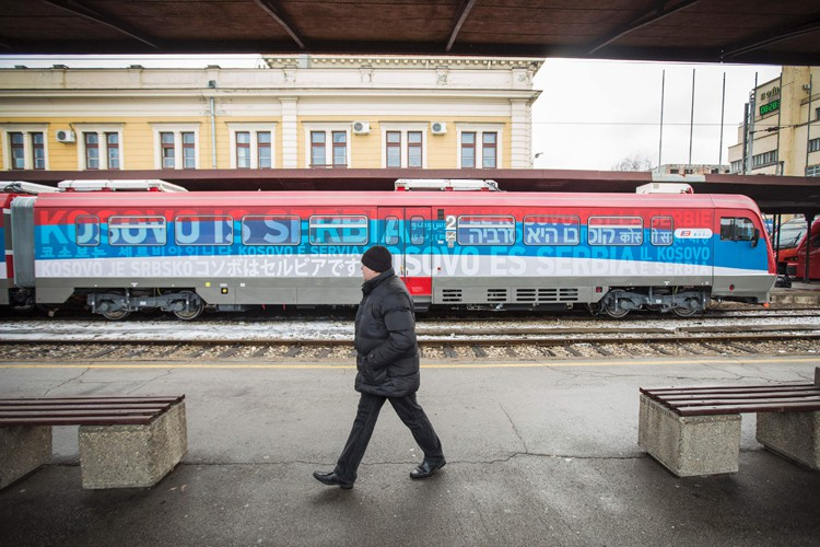 La Serbie a tenté de maintenir son influence... (PHOTO AFP)