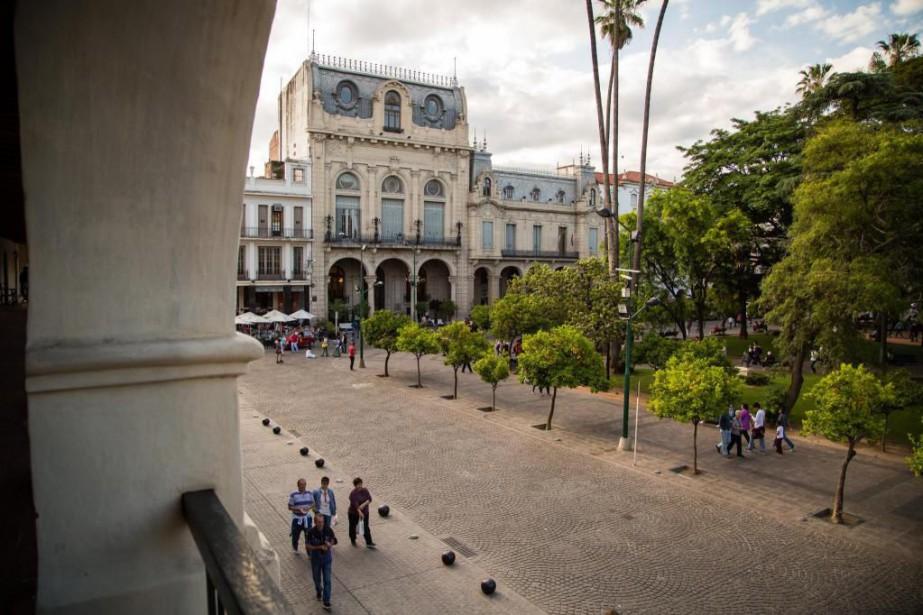 Fondée en1582, la ville deSalta est aujourd'hui un... (PHOTO DENIS WONG, COLLABORATION SPÉCIALE)