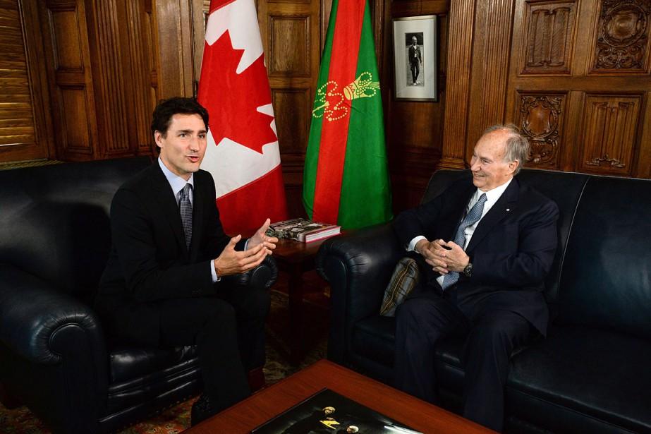 Sur cette photo, le premier ministre Justin Trudeau... (PHOTO ARCHIVES LA PRESSE CANADIENNE)