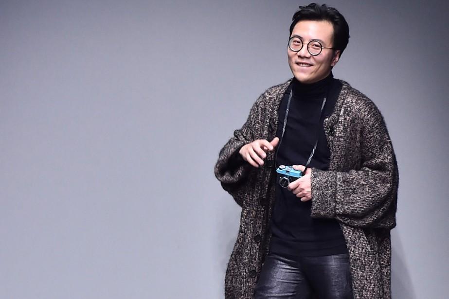 Invité à la Fashion Week par la Chambre... (PHOTO AFP)