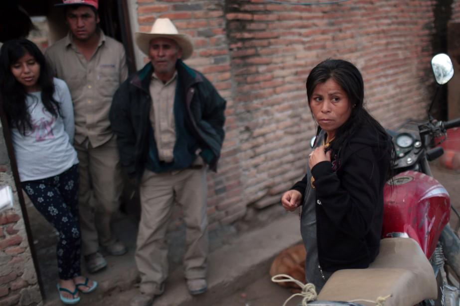 Teresa Contreras a perdu son emploi quand Ford a annulé son projet d'usine à San Luis Potosi.<br /><br /> (AFP)