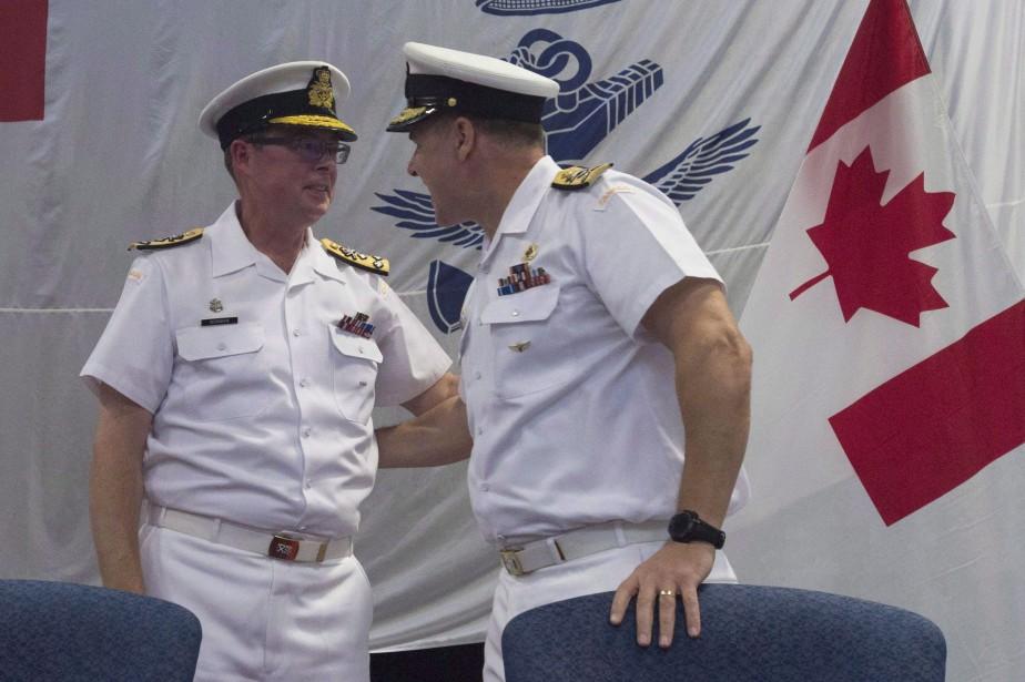Le vice-chef d'état-major de la Défense, Mark Norman... (Photo La Presse Canadienne)