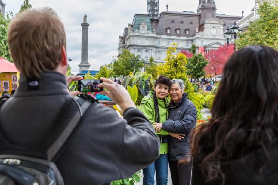 En 2015, 18 millions de visiteurs étrangers ont... (PHOTO MARCO CAMPANOZZI, ARCHIVES LA PRESSE)