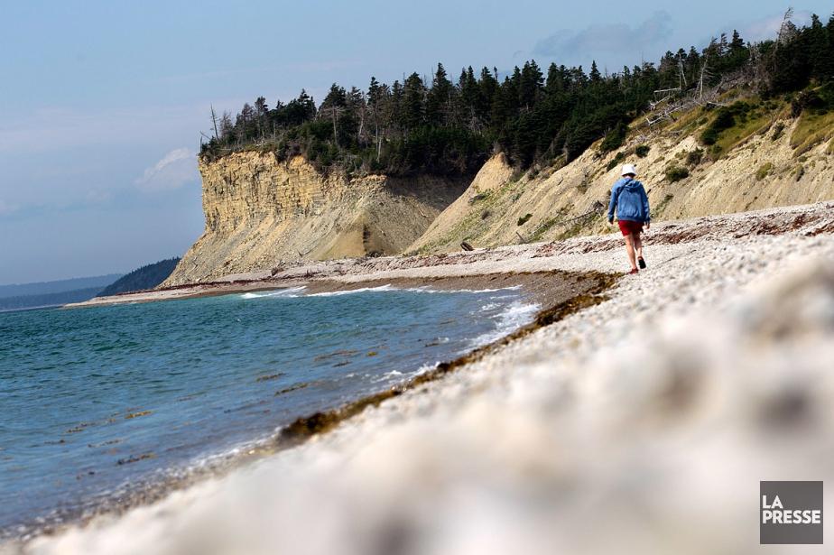 L'île québécoise aux paysages époustouflants cherche à être... (IVANOH DEMERS, ARCHIVES LA PRESSE)