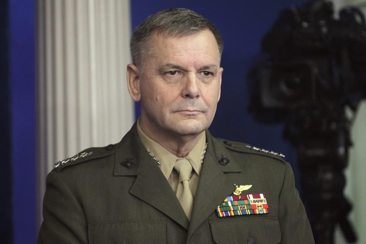 James Cartwright avait menti aux enquêteurs en prétendant... (ARCHIVES AP)