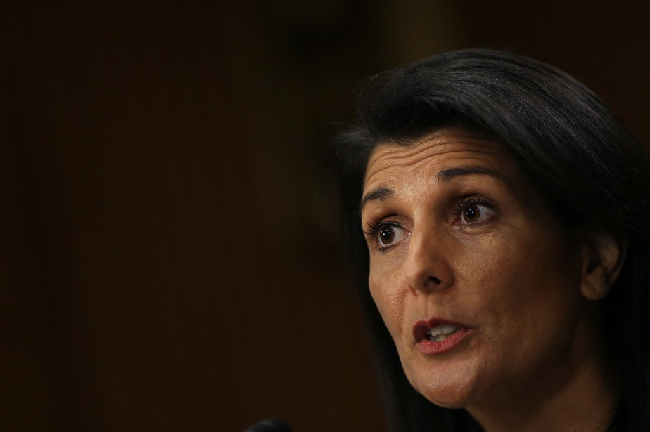 Nikki Haley... (PHOTO CARLOS BARRIA, ARCHIVES REUTERS)