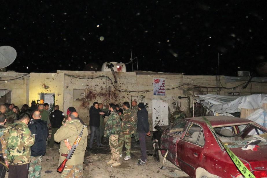 Dans son communiqué revendiquant l'attaque, Fateh al-Cham, ex-Front... (PHOTO ARCHIVES AFP)