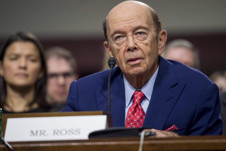 Wilbur Ross, Jr.a expliqué que les États-Unis doivent... (PHOTO SAUL LOEB, AFP)