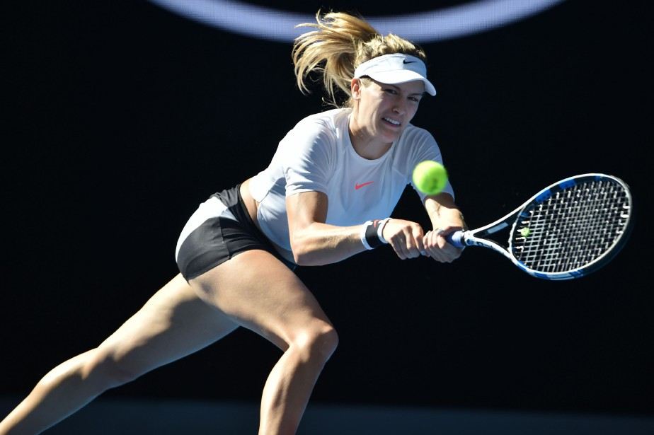 Eugenie Bouchard... (Photo Peter Parks, AFP)