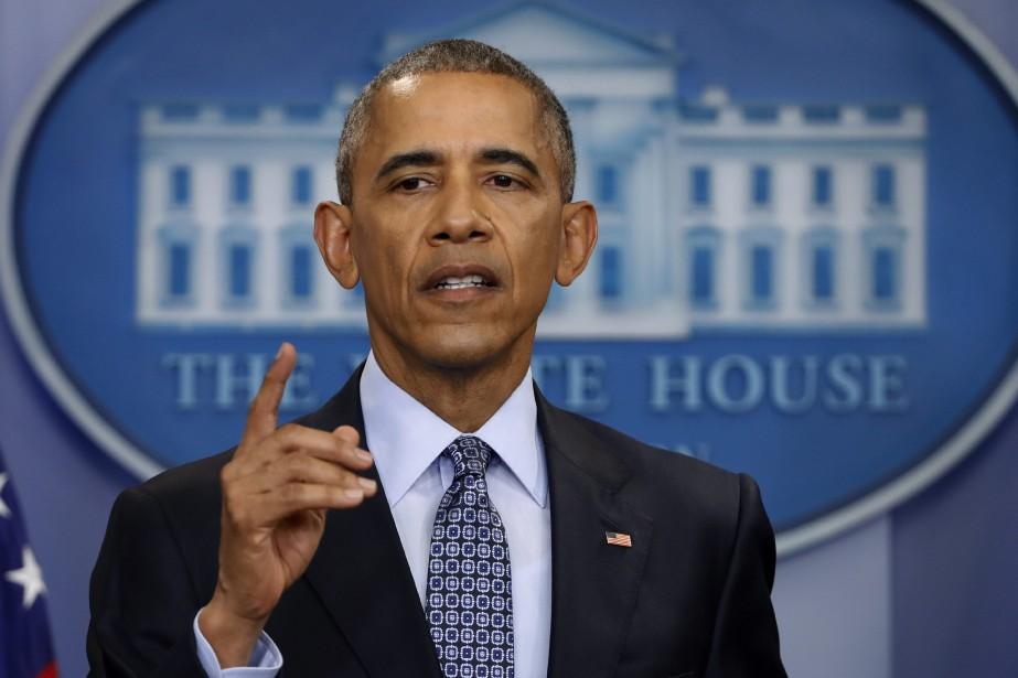 Le président américain Barack Obama... (PHOTO Pablo Martinez Monsivais, AP)