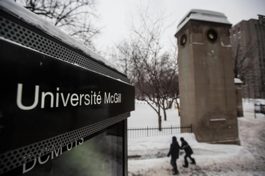 Le nombre de demandes d'admission à l'Université McGill... (PHOTO OLIVIER PONTBRIAND, ARCHIVES LA PRESSE)