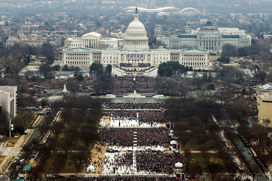 Le National Mall a accueilli des milliers d'Américains. (Phoot Lucas Jackson, REUTERS)