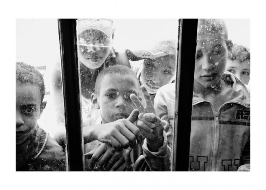Sans titre, photo tirée de la série No... (Photo Leila Alaoui, fournie par le MBAM)