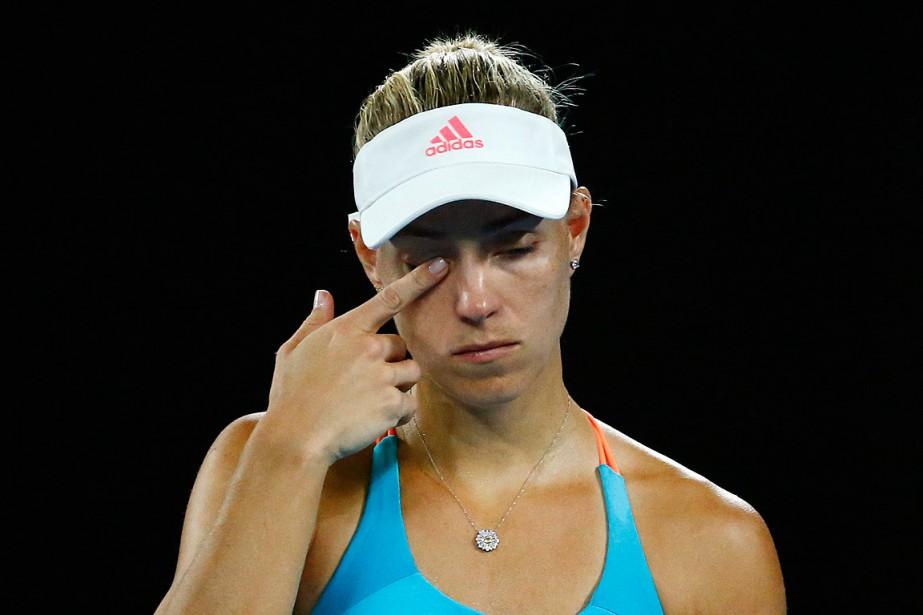 Angelique Kerber était la champione en titredes Internationaux... (Photo Edgar Su, REUTERS)