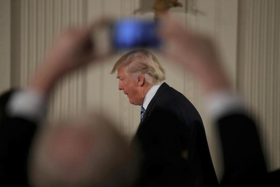 L'administration Trump réserve aux États-Unis et au monde... (Photo Joshua Roberts, Reuters)