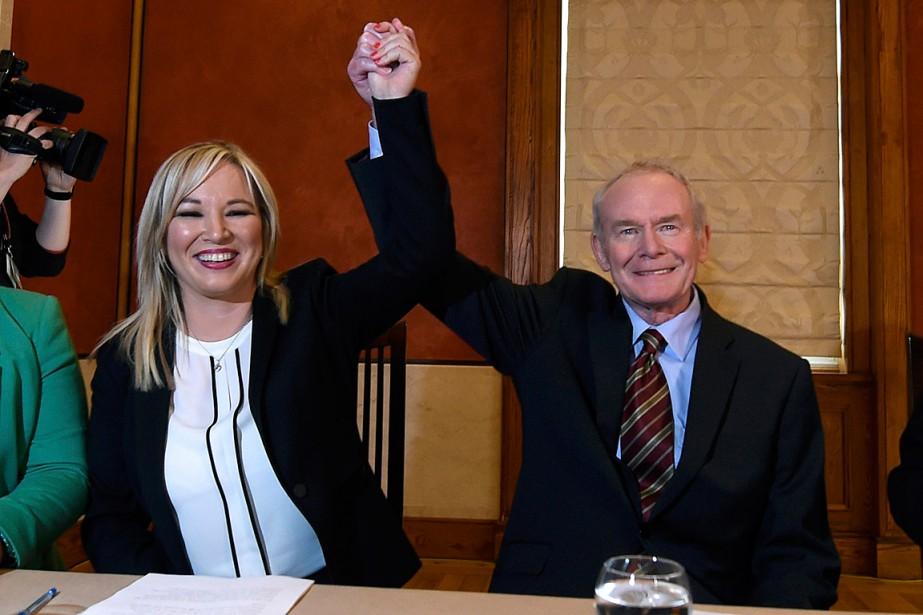 Michelle O'Neillremplace Martin McGuinness, ancien responsable de l'IRA... (Photo Clodagh Kilcoyne, REUTERS)
