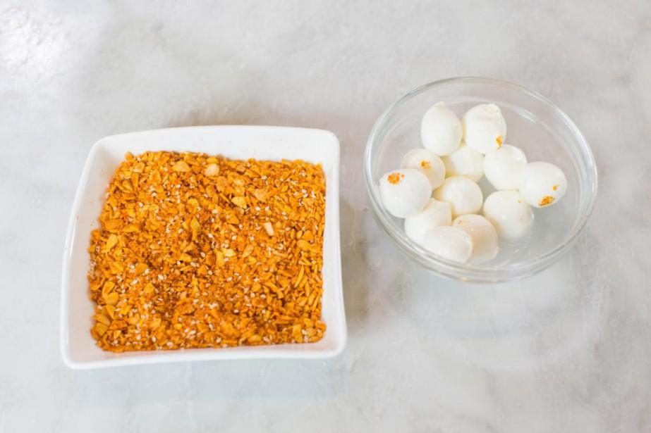 Le dukka est un mélange d'épices et de... (Photo Olivier PontBriand, La Presse)