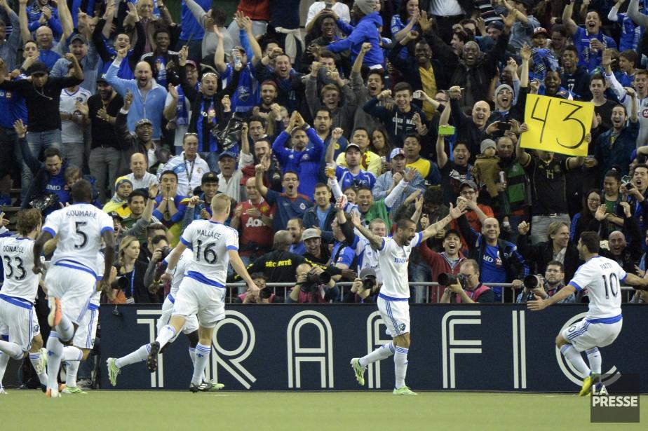 L'Impact a atteint la finale de la Ligue... (Photo Bernard Brault, La Presse)
