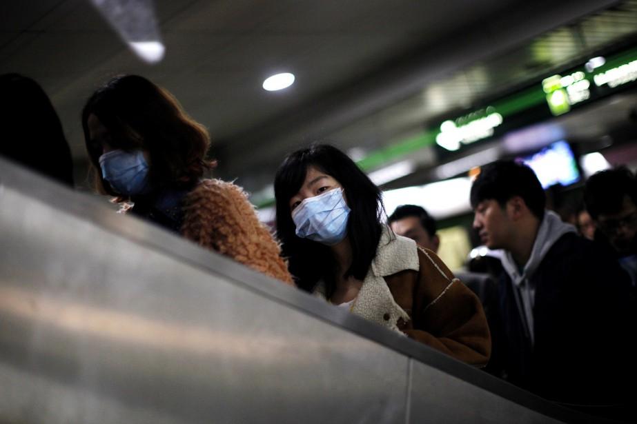 La Chine a rapporté plus d'un millier de... (Photo Carlos Barria, archives Reuters)