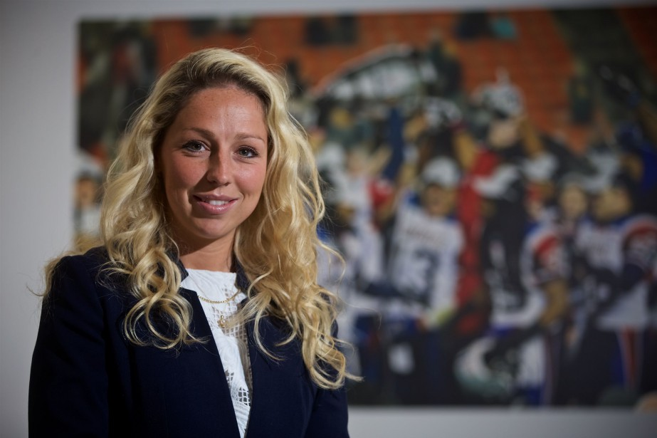 La nouvelle directrice générale adjointe aux opérations football... (Photo André Pichette, La Presse)