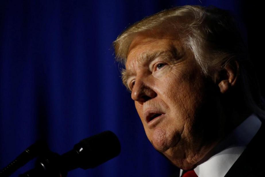 Le président américain Donald Trump a exhorté mercredi... (PhotoJonathan Ernst, Archives Reuters)