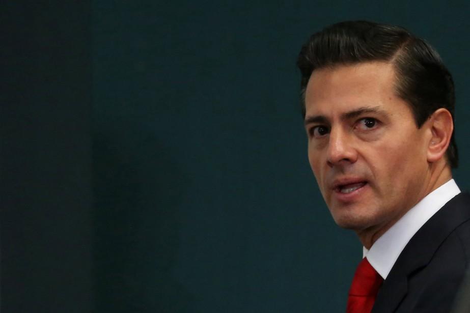 Le président mexicain Enrique Peña Nieto.... (Photo Reuters)