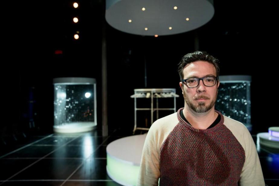 L'auteur et metteur en scène Olivier Choinière présente... (Photo Marco Campanozzi, La Presse)