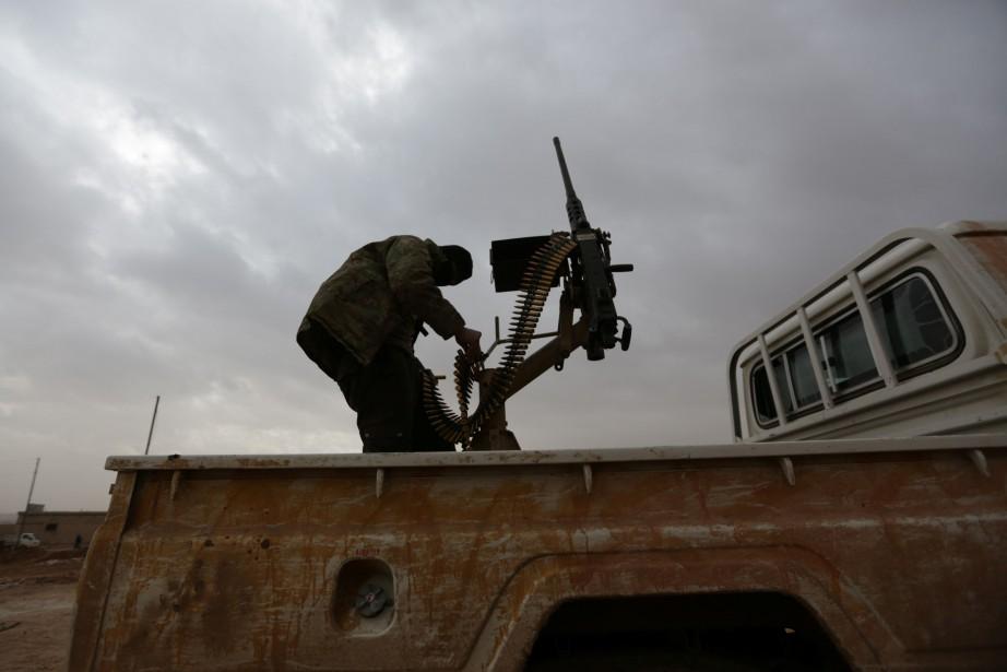 Depuis 2011, la guerre en Syrie a tué... (Photo Khalil Ashawi, Reuters)