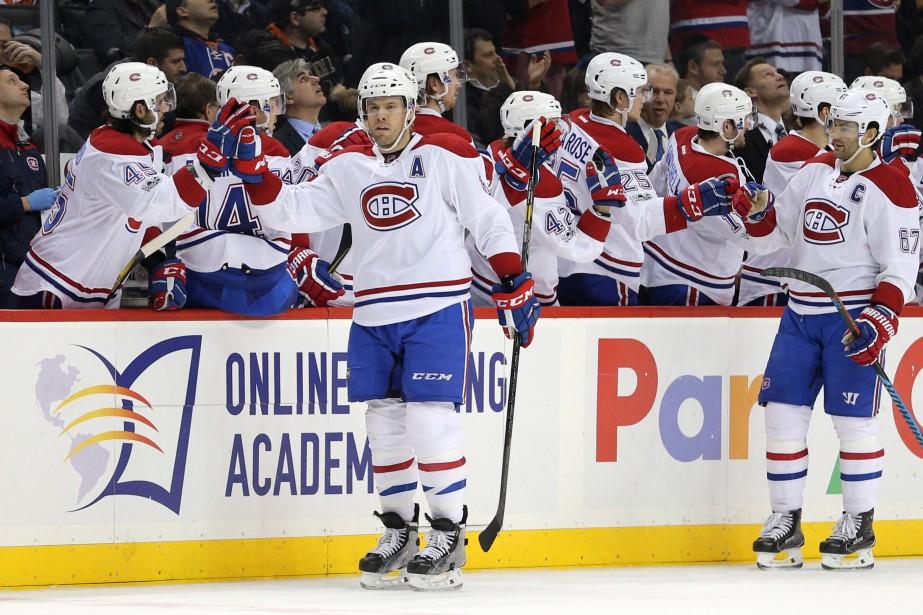Shea Weber a marqué le premier but du Canadien. Et le seul. (Photo  Brad Penner, USA Today Sport)