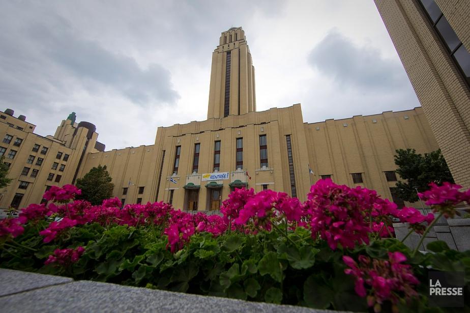 La porte-parole de l'Université de Montréal, Geneviève Omeara,... (André Pichette, archives La Presse)
